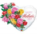 "Balon foliowy 35""  ""Mother's Day Rose Bouquet"""
