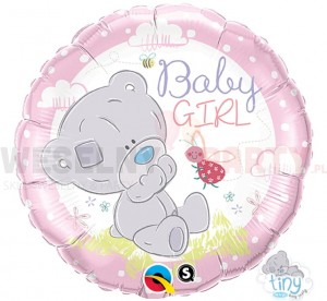 "Balon foliowy 18"" ""Tiny Tatty Teddy Baby Girl"""
