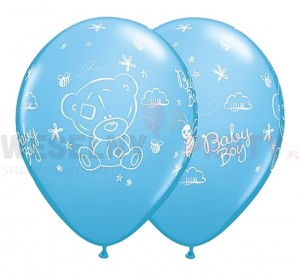 "Balon 14"" pastel ""Me To You Tatty Baby Boy"" niebieski"