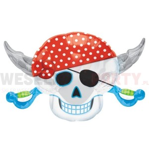 "Balon foliowy 18x28"" ""Pirate Party"""