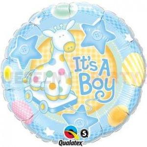 "Balon foliowy 18"" ""It's a Boy"""