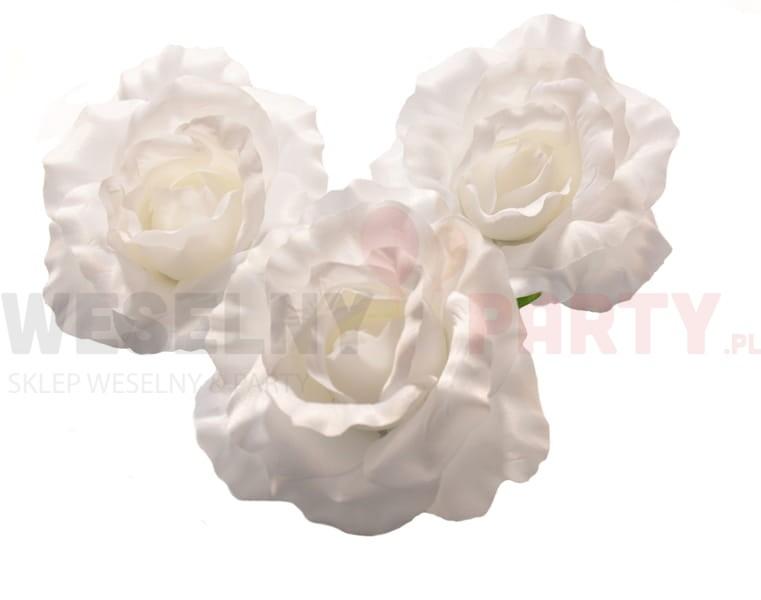 Kwiaty Sztuczne Róża Białe Sklep Weselny Party