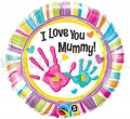 "Balon foliowy 18"" ""I Love You Mummy"""
