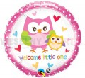 "Balon foliowy 18"" ""Welcome Little One"""