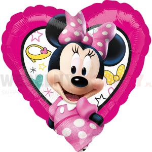 "Balon foliowy 17""  ""Happy Minnie"""