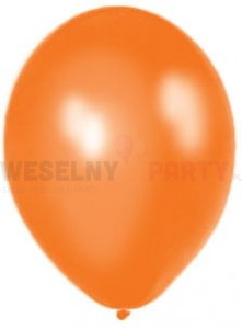 "Balony 14"" orange, metalik"