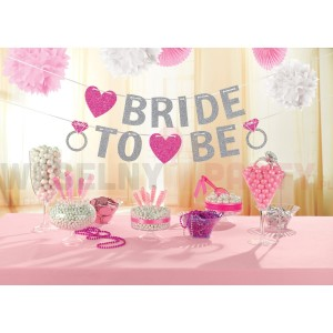 "Baner ""Bride To Be"""
