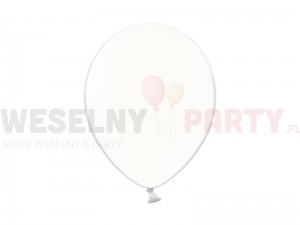 "Balony 14"" crystal clear"