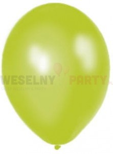 "Balon 14"" jasnozielony, metalik"