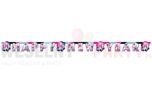 "Baner ""Happy New Year"""